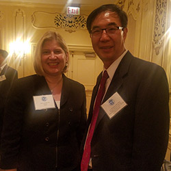 Dr. Zhao and Leocadai Zak
