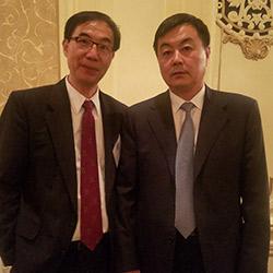 Dr. Zhao and Mr. Li